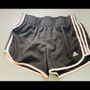 ADDIDAS- running shorts.